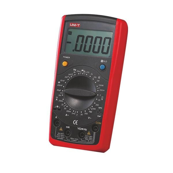 Miernik uniwersalny, multimetr z funkcją HOLD i akustyczną sygnalizacją