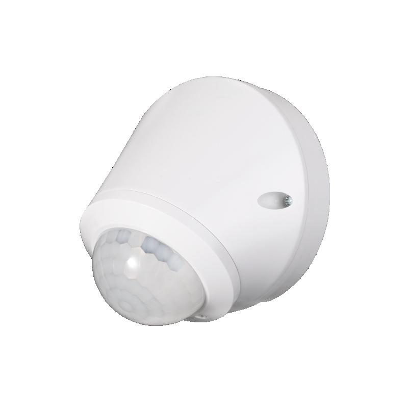 Czujnik ruchu 180°/360°, IP65, 800W, biały