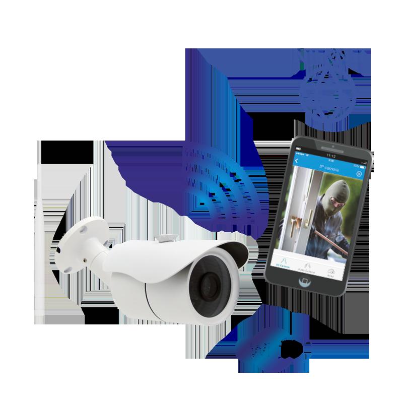 Kamera monitorująca IP, zewnętrzna