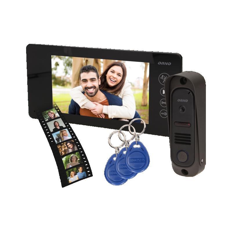 Zestaw wideodomofonowy z szyfratorem ARCUS RFID 7