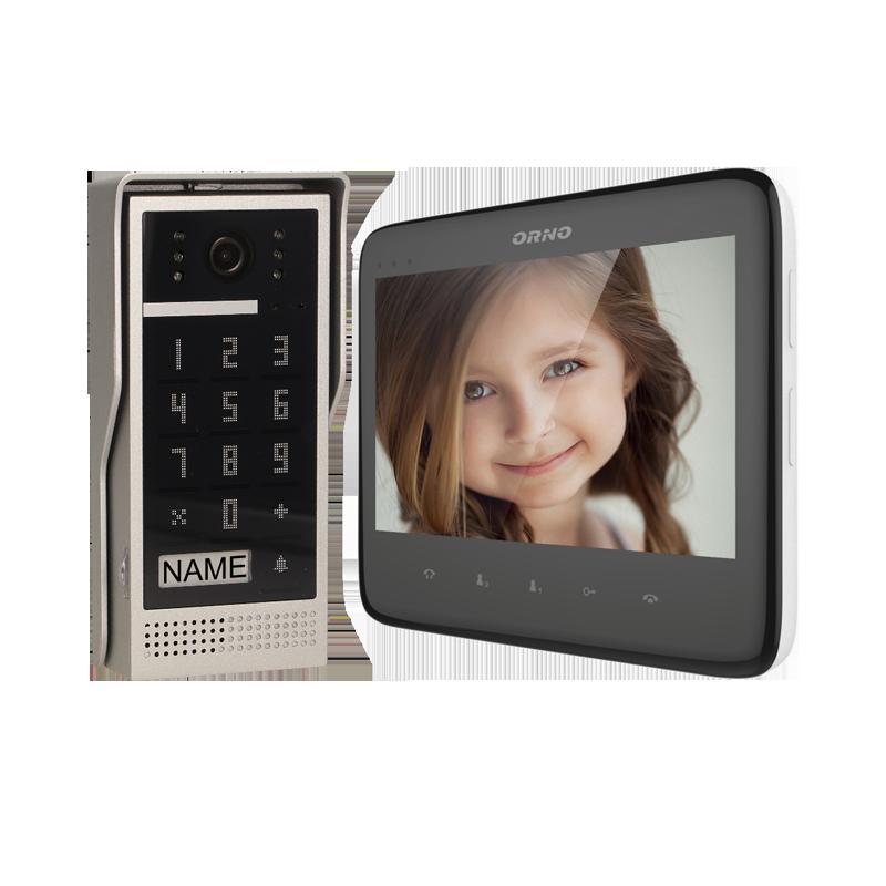 Zestaw wideodomofonowy z szyfratorem DICO 7