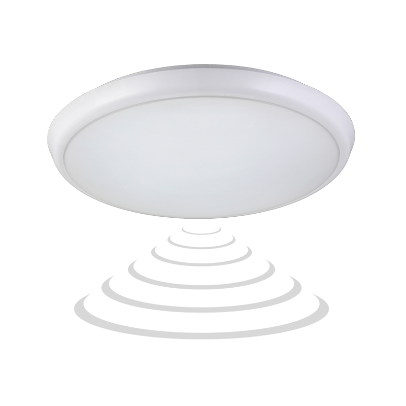 Plafon CERS LED z mikrofalowym czujnikiem ruchu, 22W